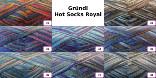 Gründl Hot Socks Royal 4-fädig