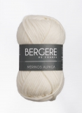 BERGERE Mérinos Alpaga Farbe 29899 ecru