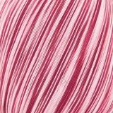 Gründl Häkelgarn 100 ombre Farbe 08 weinrot-weiß