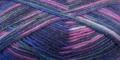 Gründl Hot Socks Queen Farbe 23 fuchsia - blau