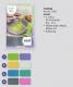 Gründl Cucina Farbe 01 limette violett