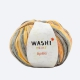 Katia Washi print Farbe 300 braun-ocker-orange