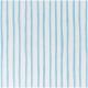 Rico Design Druckstoff weiß, Streifen hellblau 160 cm x 10cm
