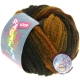 LANA GROSSA Loop ragazza Farbe 11 schwarzbraun / senf