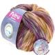 LANA GROSSA Feltro Spectra Farbe 811 rosa / senf / violett / grau