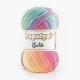 Papatya Batik Farbe 11 pastelregenbogen