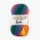 Papatya Batik Farbe 13 kräftiger regenbogen