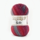 Papatya Batik Farbe 42 rot-grau