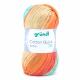 Gründl Cotton Quick Batik Farbe 05 hellblau-grün-mais-orange